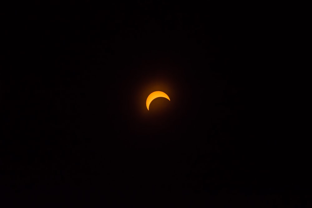 solar eclipse view during night time