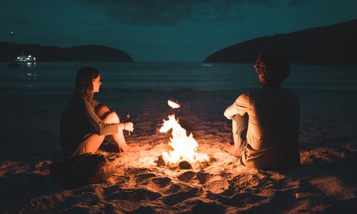 campfire pickup line