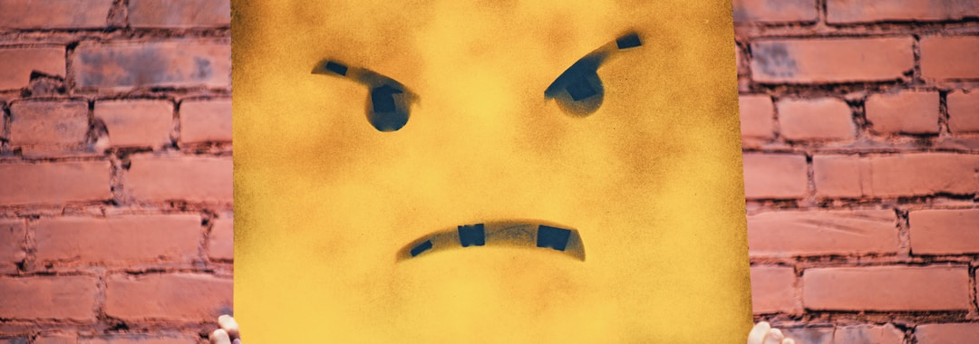 angry face illustration