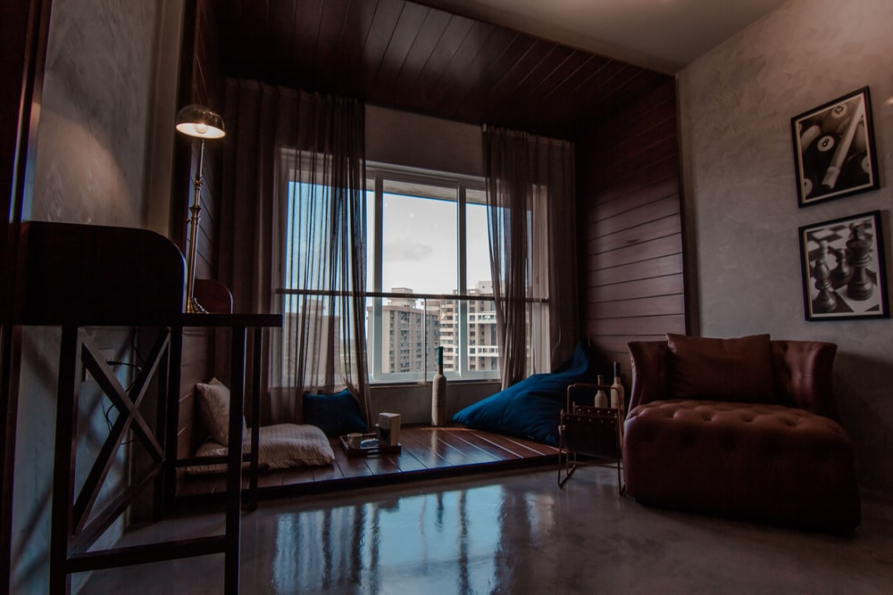 best nice house interior. Clean living space in Mumbai house with window looking out on city Interiors  houses homes 5 best free home interior and