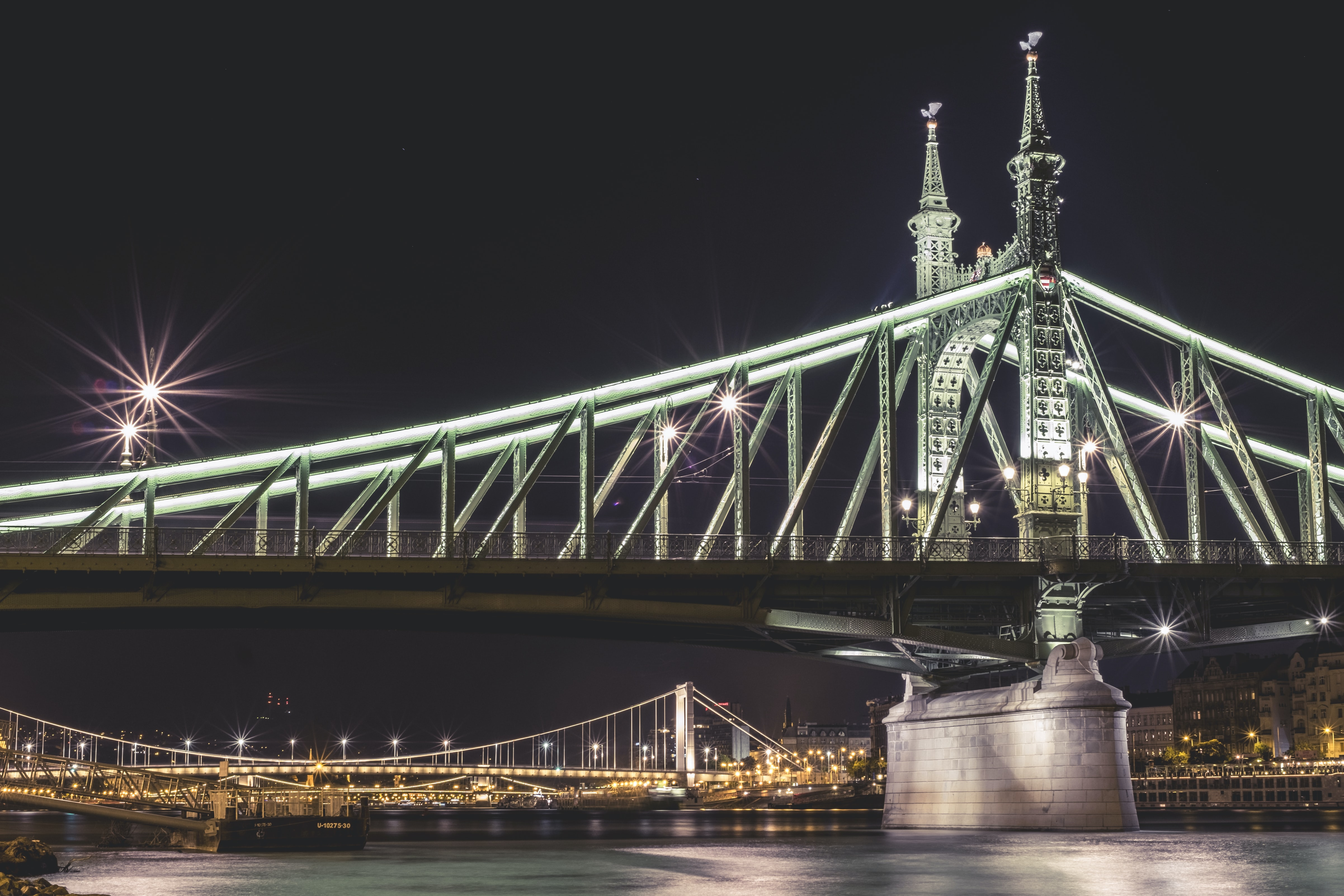 architectural photography of Tower Bridge, London