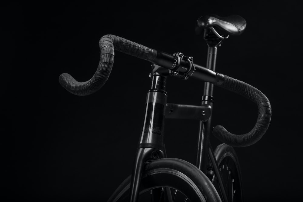 black road bike