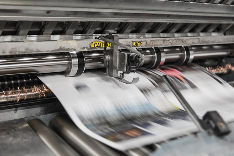 Impresora imprimindo