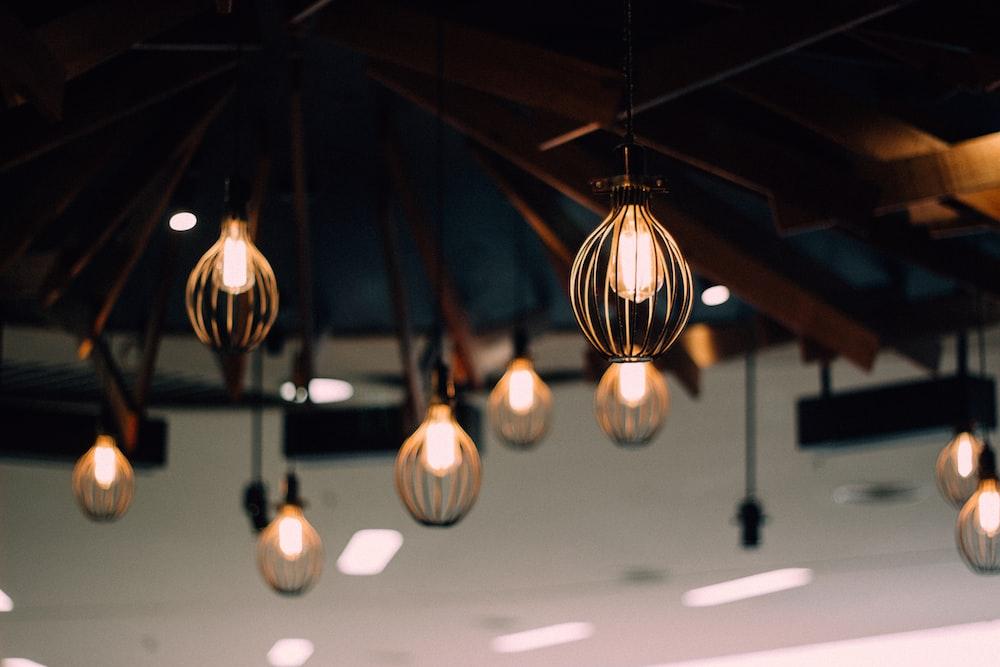 lighted pendant lamp lot