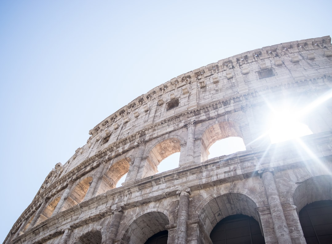 As I waited in the tedious line to tour the inside of Colosseum, I entertained myself with the imagination that I will be spectating a gladiator battle. Then then sun was passing between the arches. There was something dramatic about it that I had to capture!