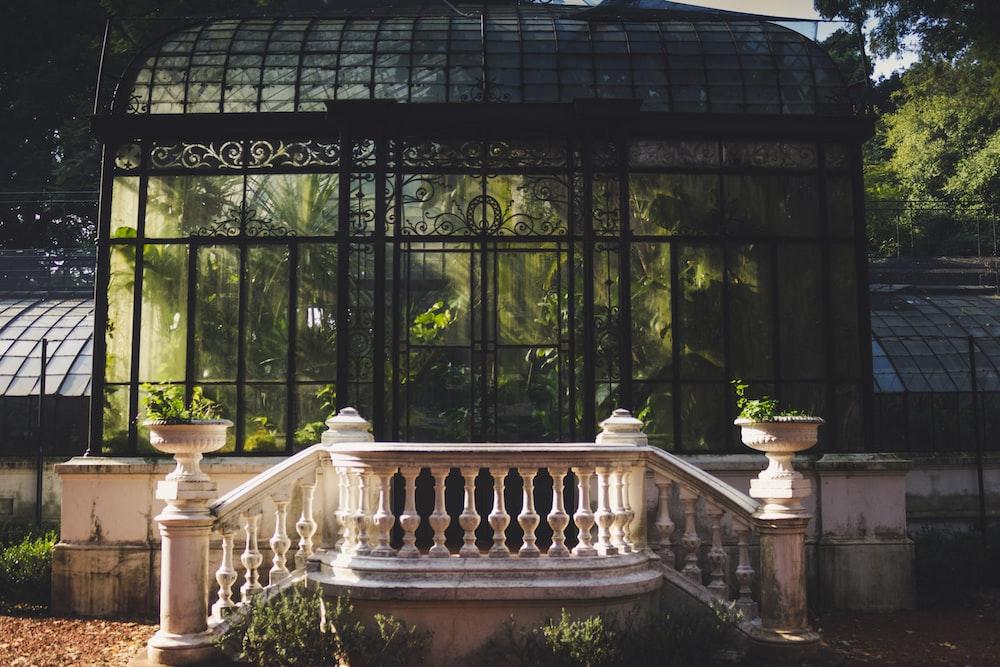 facade photo of garden