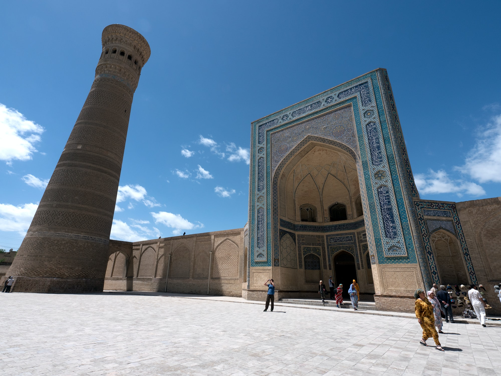 Uzbekistan contains some of the best preserved former Silk Road cities in Asia. 