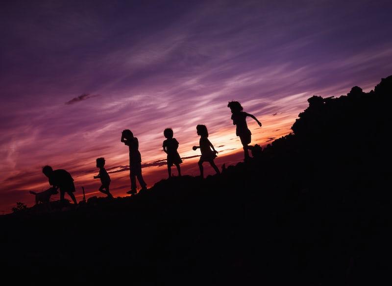 夕闇の子供たち