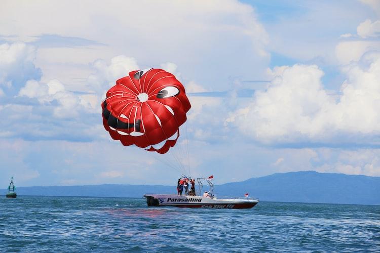 Paragliding, Best Adventure Activities in Bali