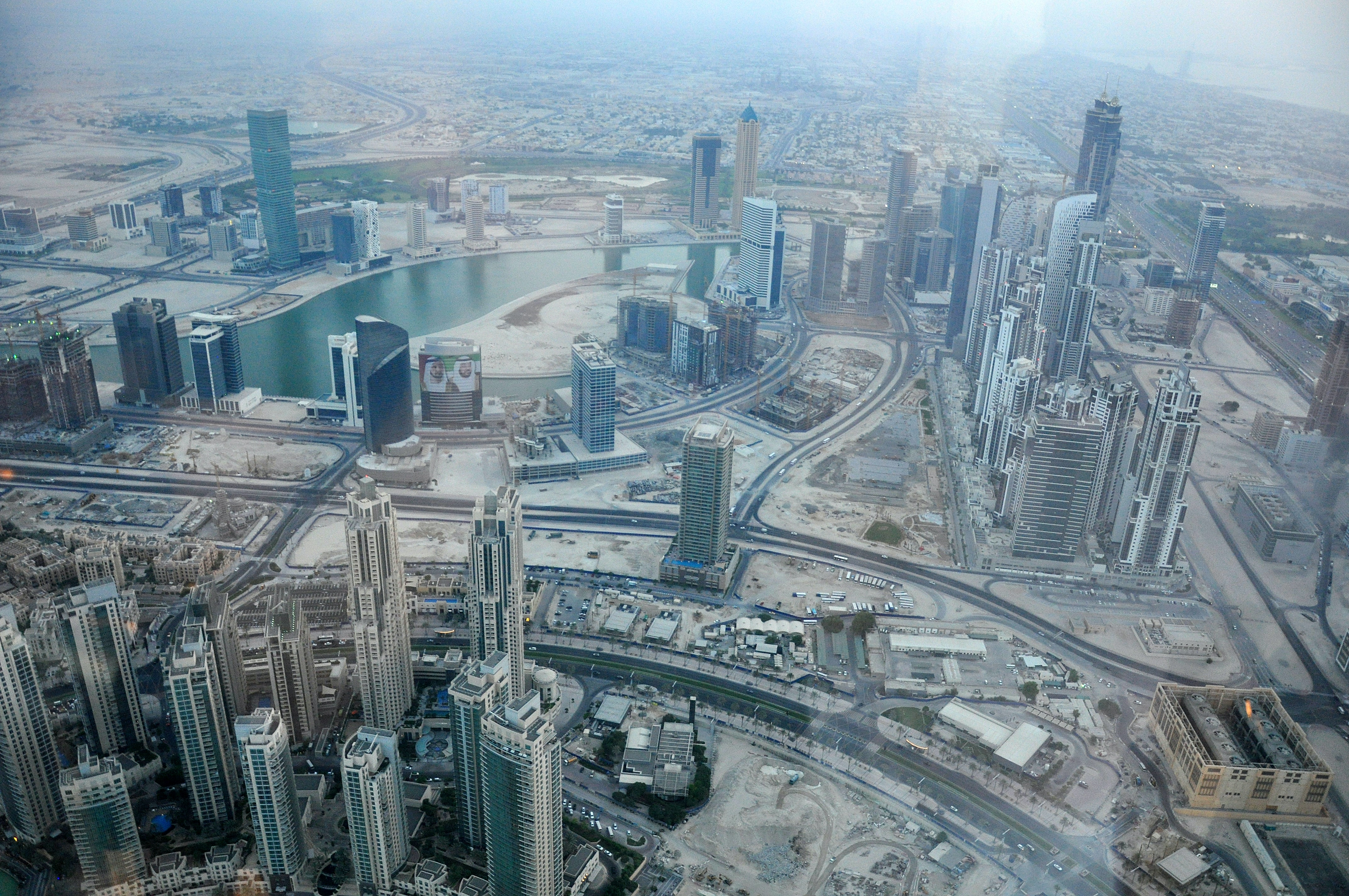 aerial view photography of Dubai during daytime