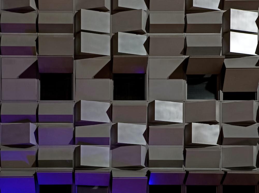 gray metal wall