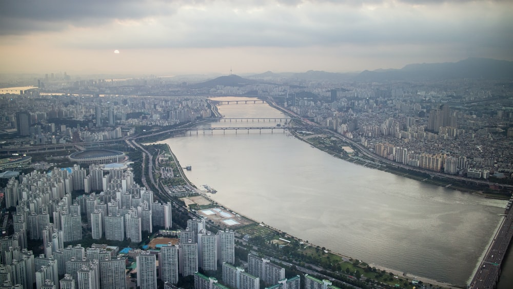 bird's eye view photo of cityscape during daytime