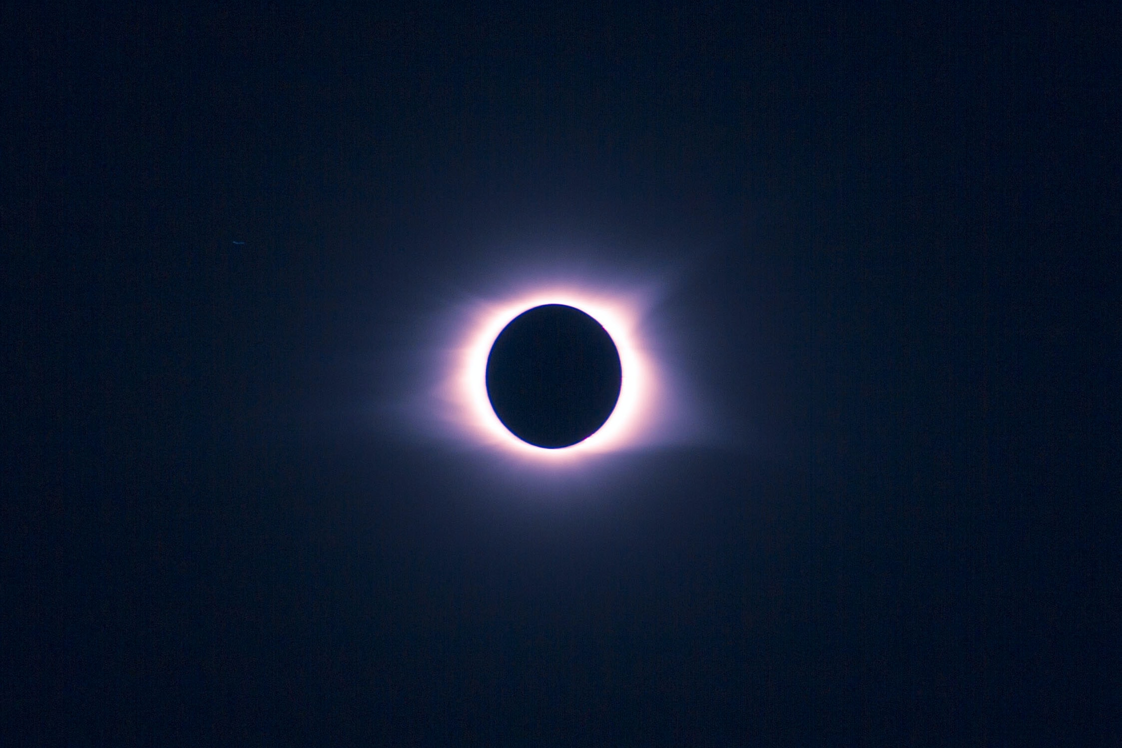 eclipse during night time