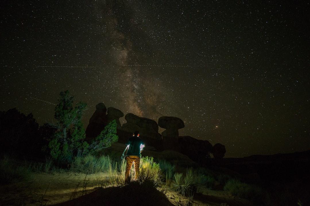 Night Sky Utah