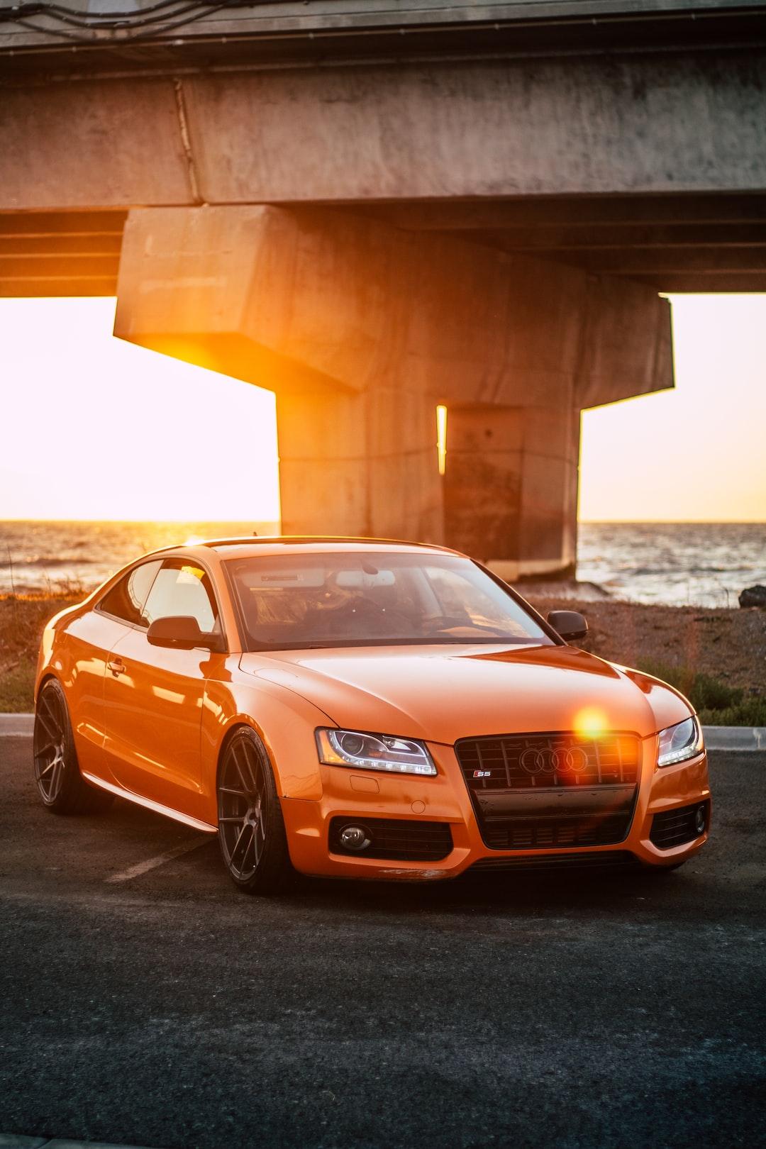 Audi S5 Sunset