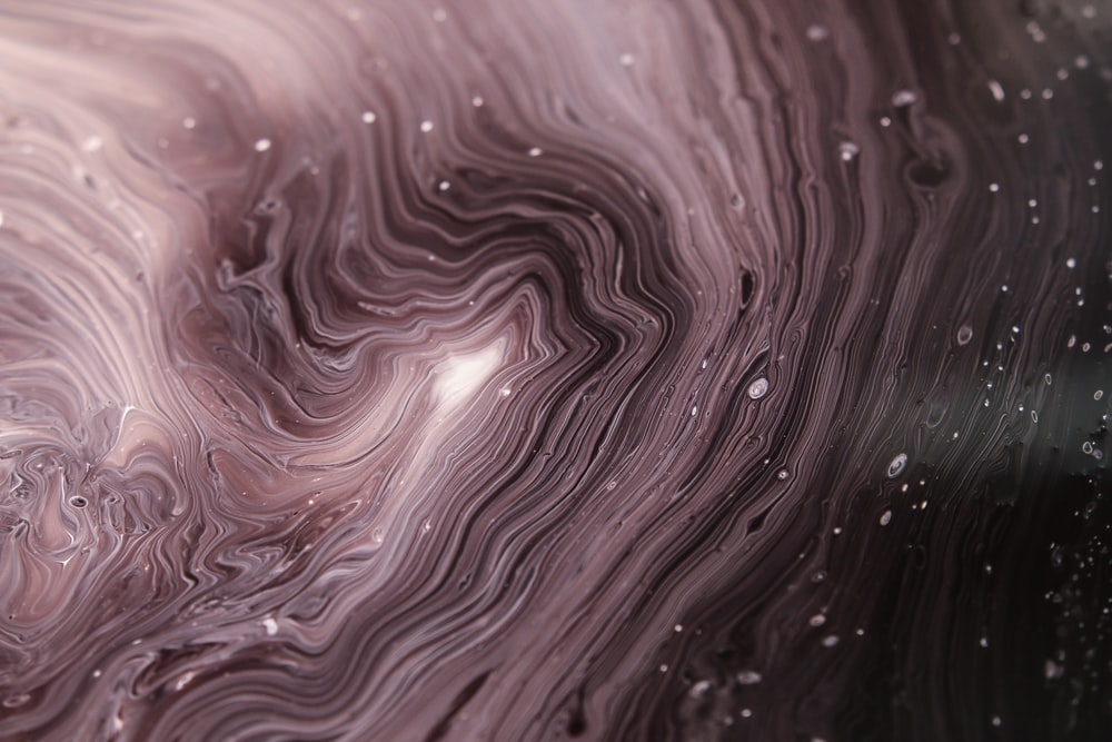 macrophotography of water