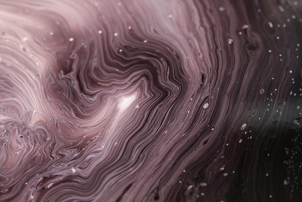 macrophotography of water