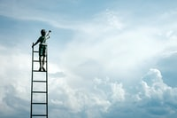 """""""Ladder to sky clouds"""""""