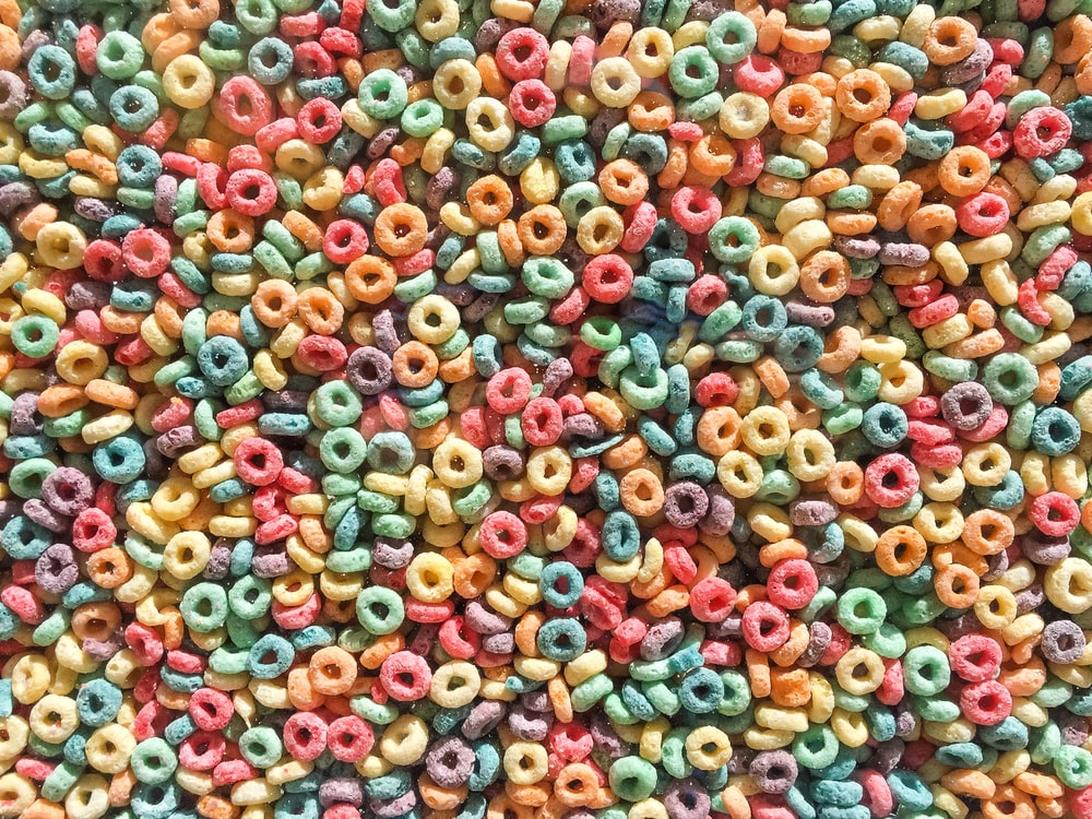 bunch of cereals