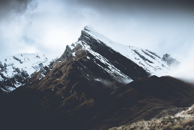 landscape photography of grey mountain south island zoom background