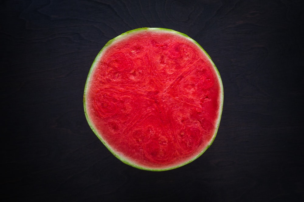 closeup photo of sliced watermelon