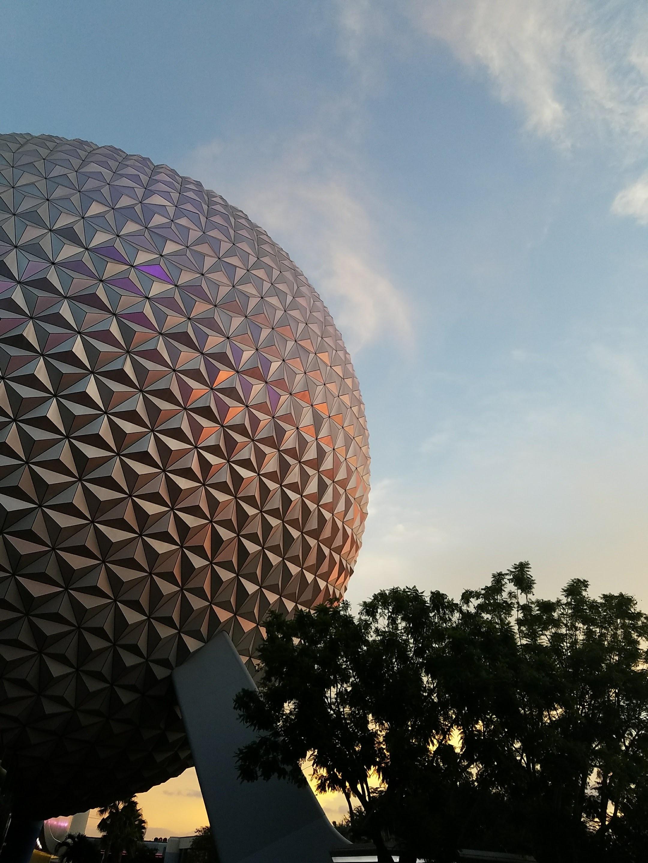 gray ball landmark