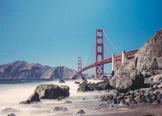 Golden Gate Bridge, San Francisco, California taken under clear sky