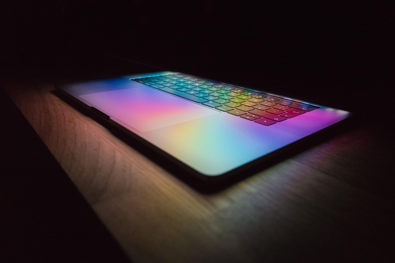 RGB lights on MacBook Pro