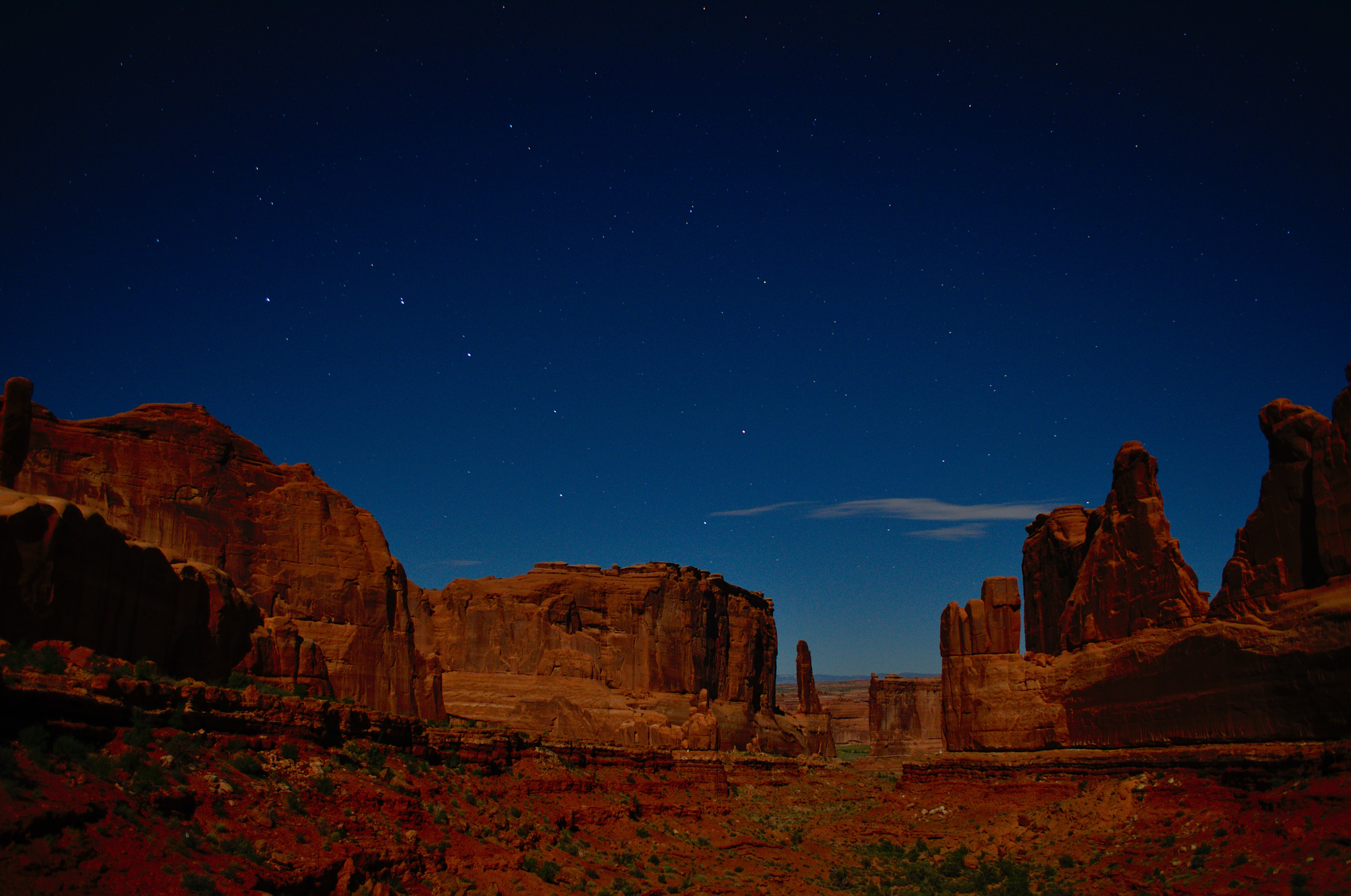 photo of monument valley under blue sky
