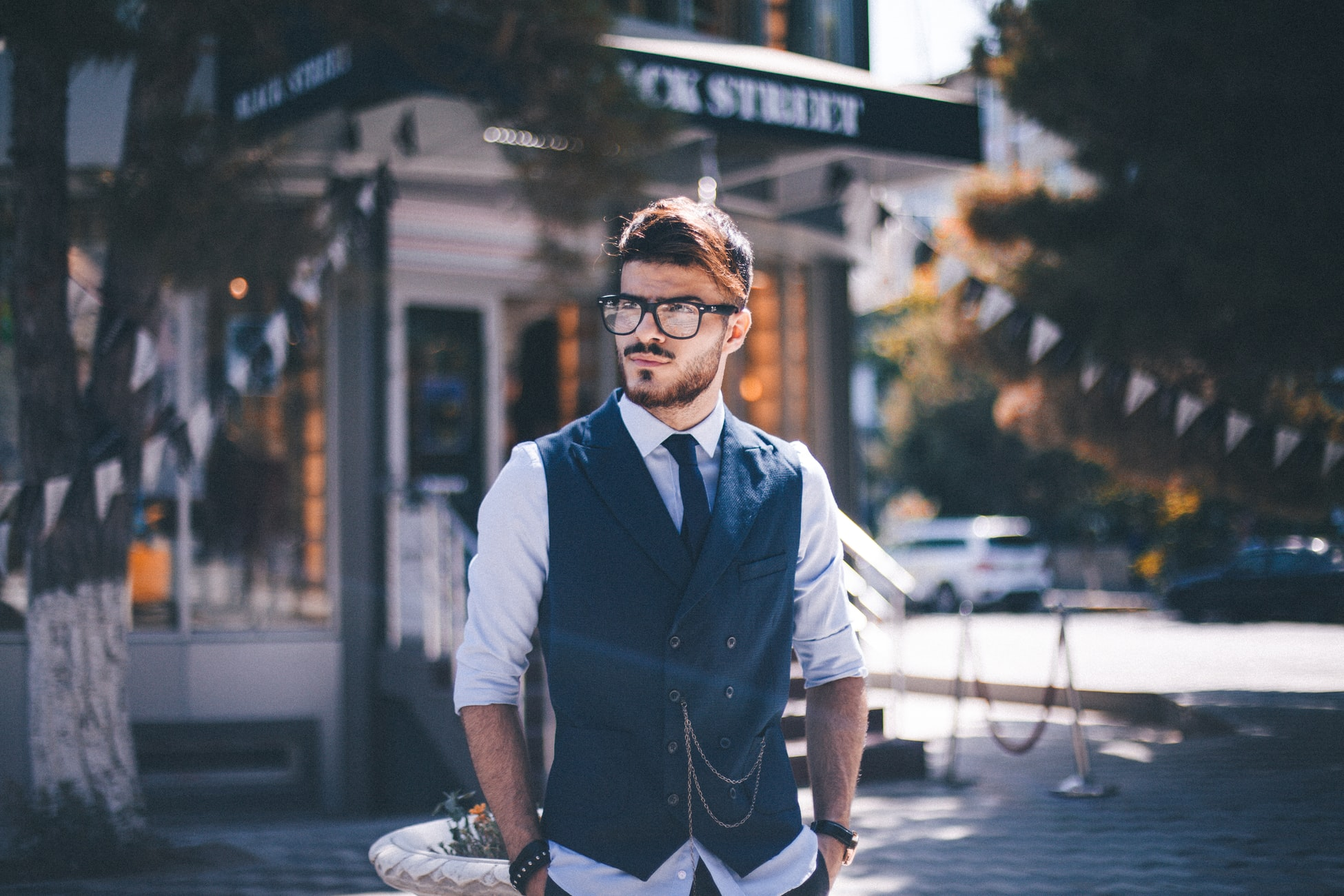portrait photography poses male
