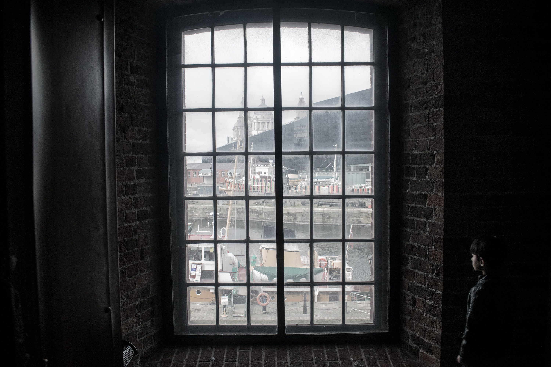 closed sash window
