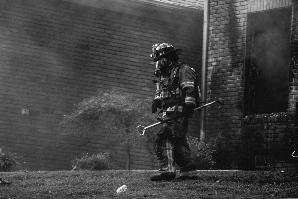 Firefighter Photo By Andrew Gaines At Shotbygaines On Unsplash