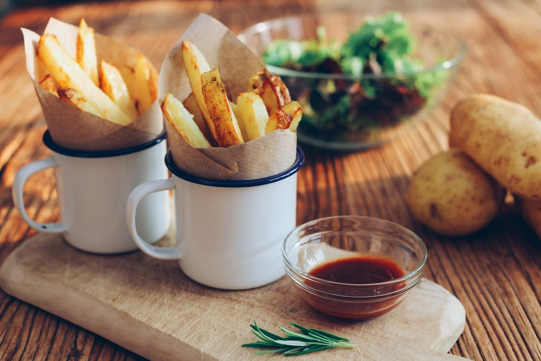 Chips. Food styling by Rhubarb & Beans.