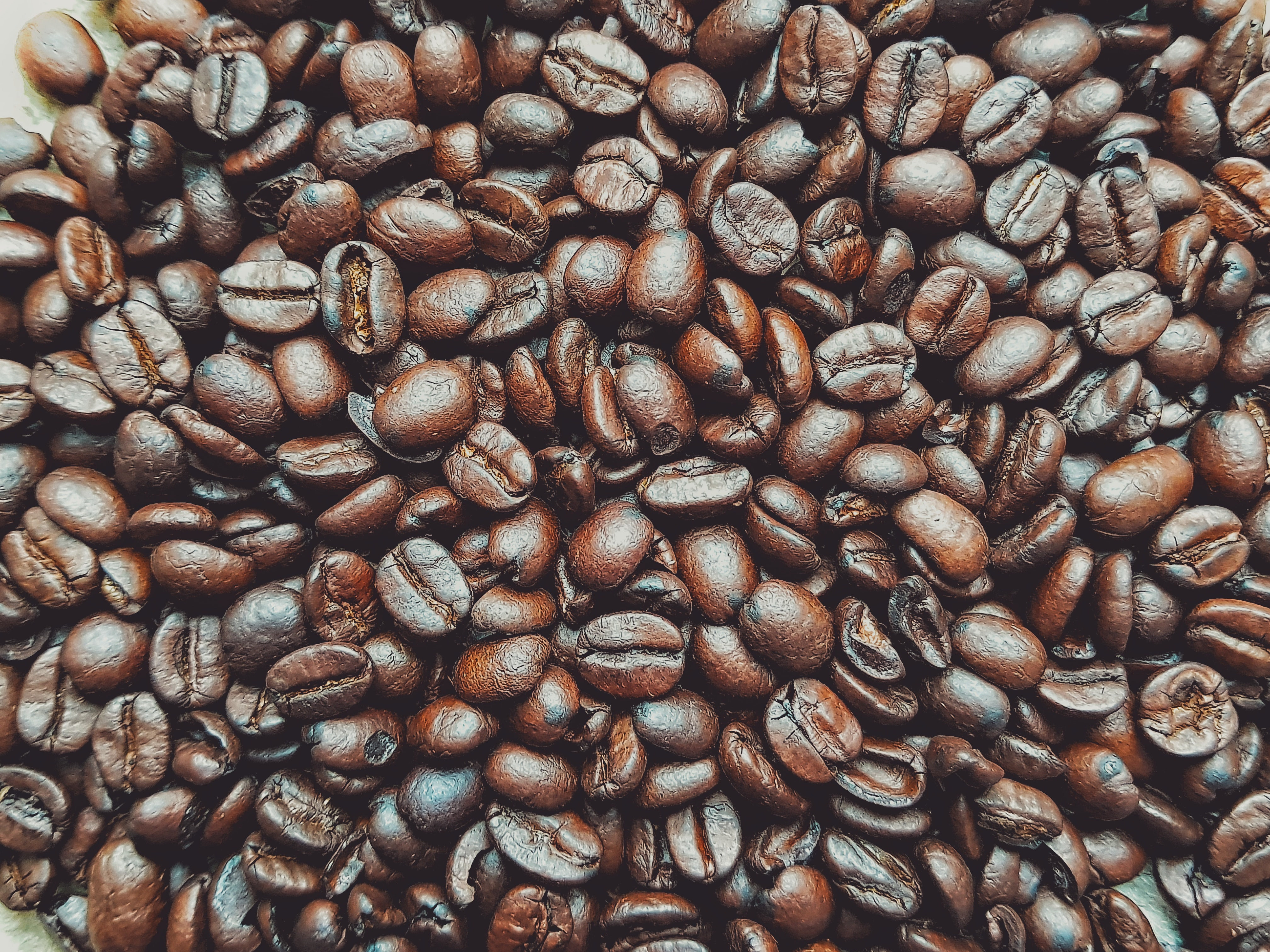 bunch of coffee beans
