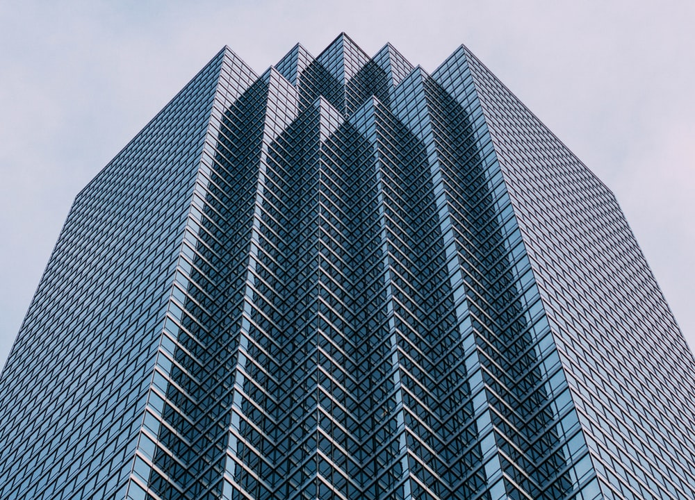 low angle photo of architectural building