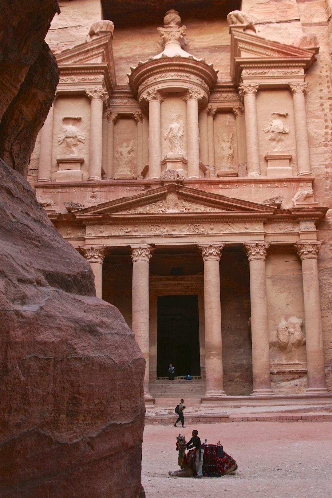 The Great Facade, Petra, Jordan
