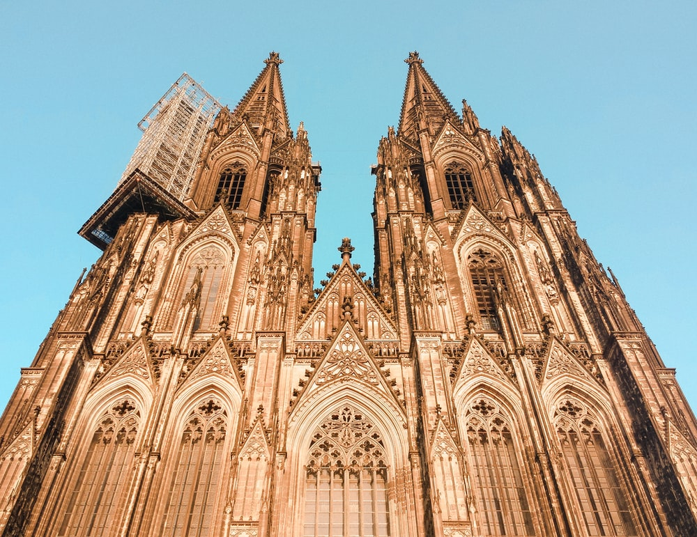 low angle photography of Cologne Cathedral, France