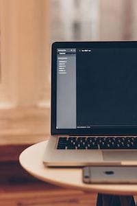 MacBook Pro displaying files