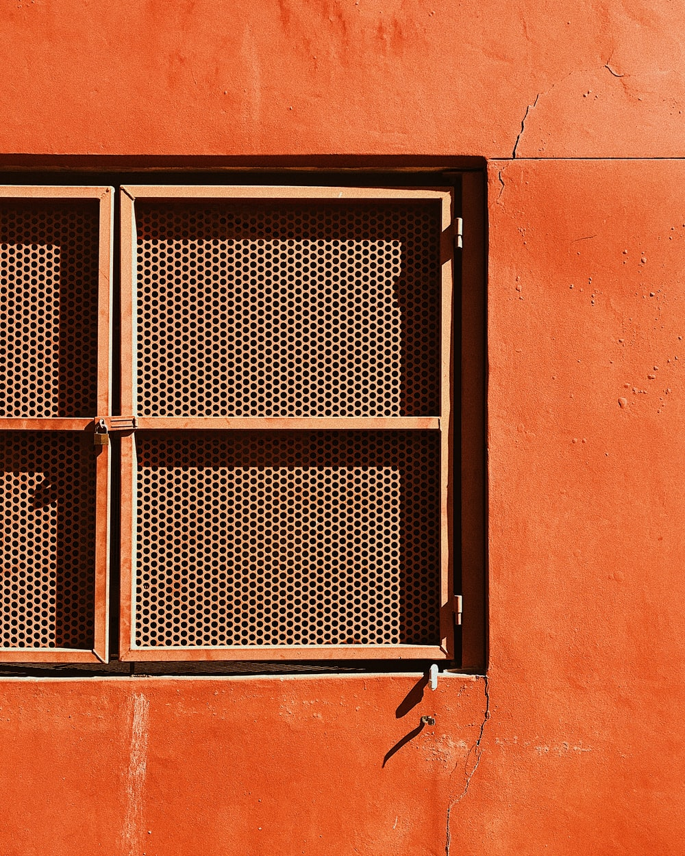 closeup photography of closed window