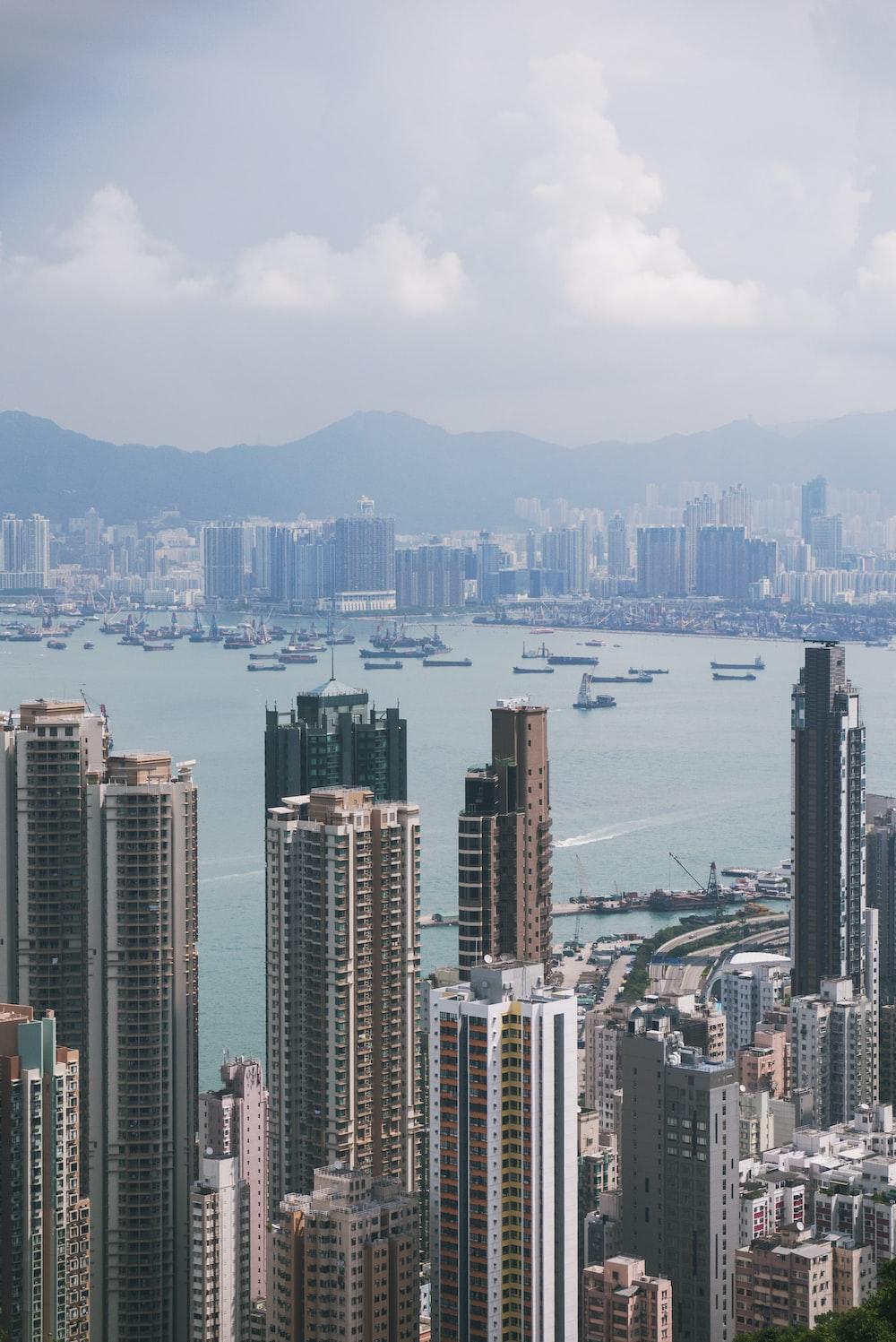 bird's eye view photo of urban place