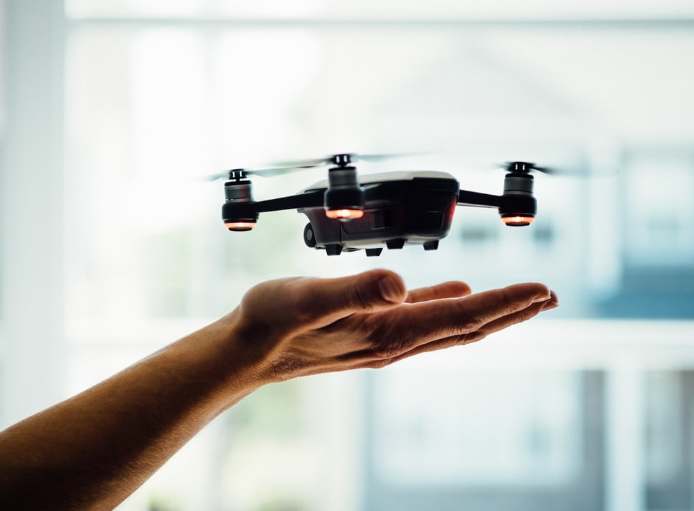 drone, 5G, Internet, connection, low-latency