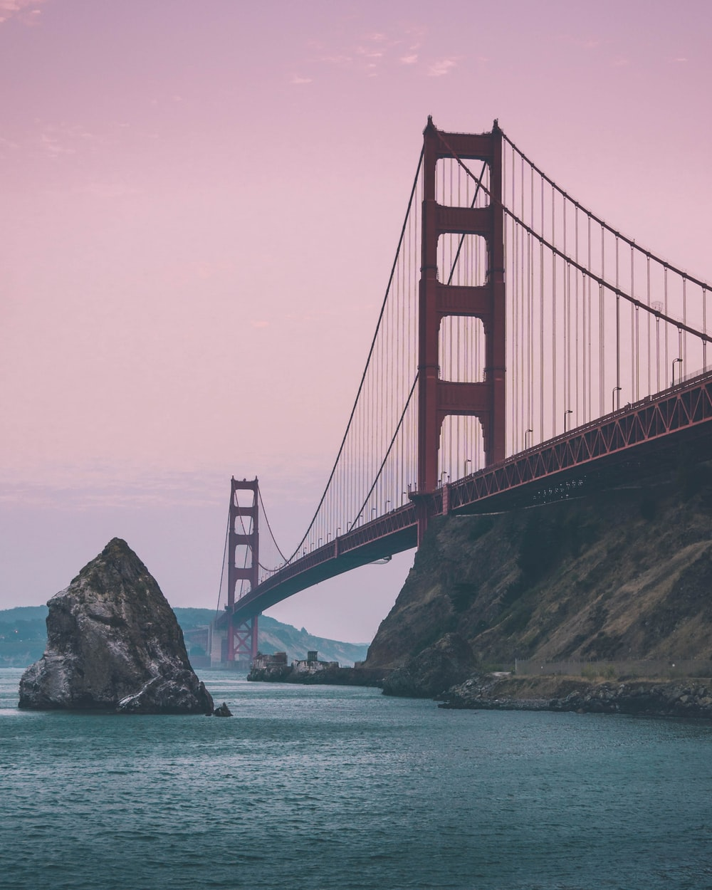 focus photo of Golden Gate during daytime