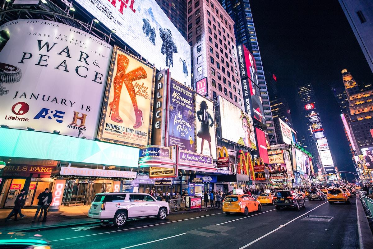 Times Square Entradas Broadway