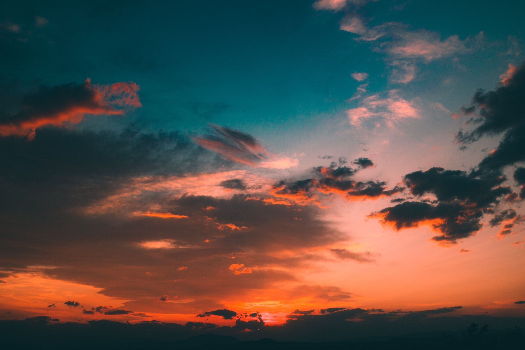 Фотографируем свет в облаках на небе