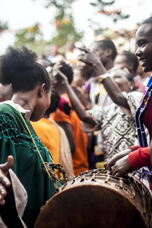 people on music festival
