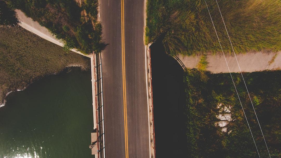 Above a Bridge