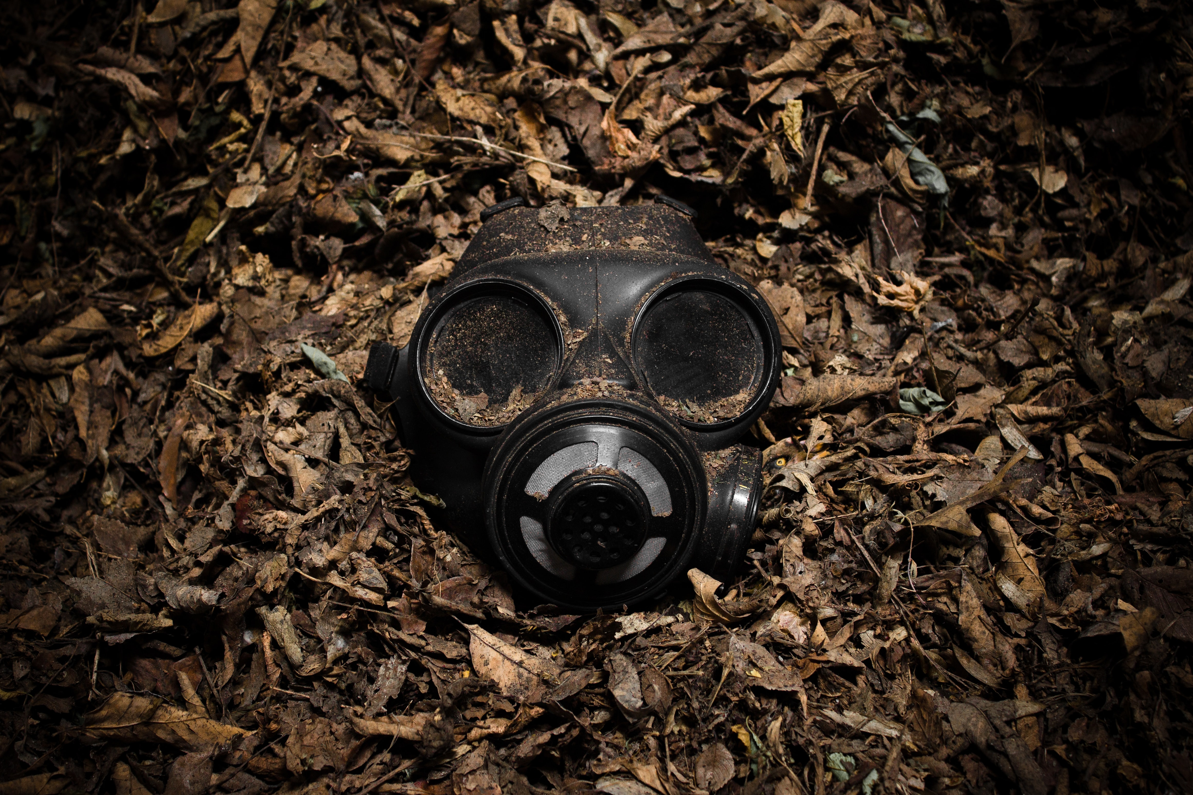 closeup photography of bong mask
