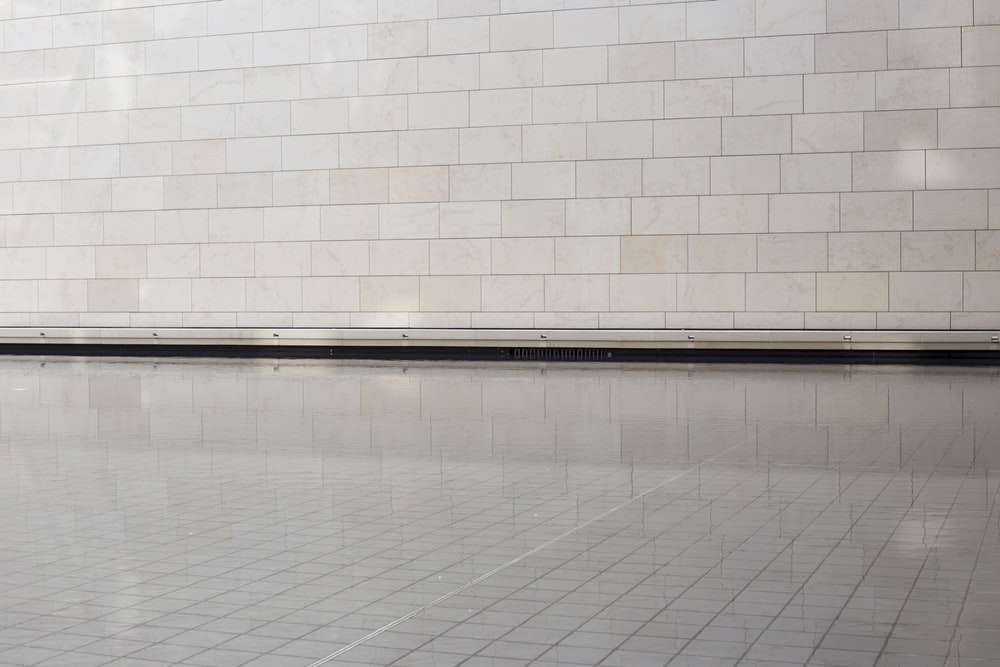 rectangular gray tiles