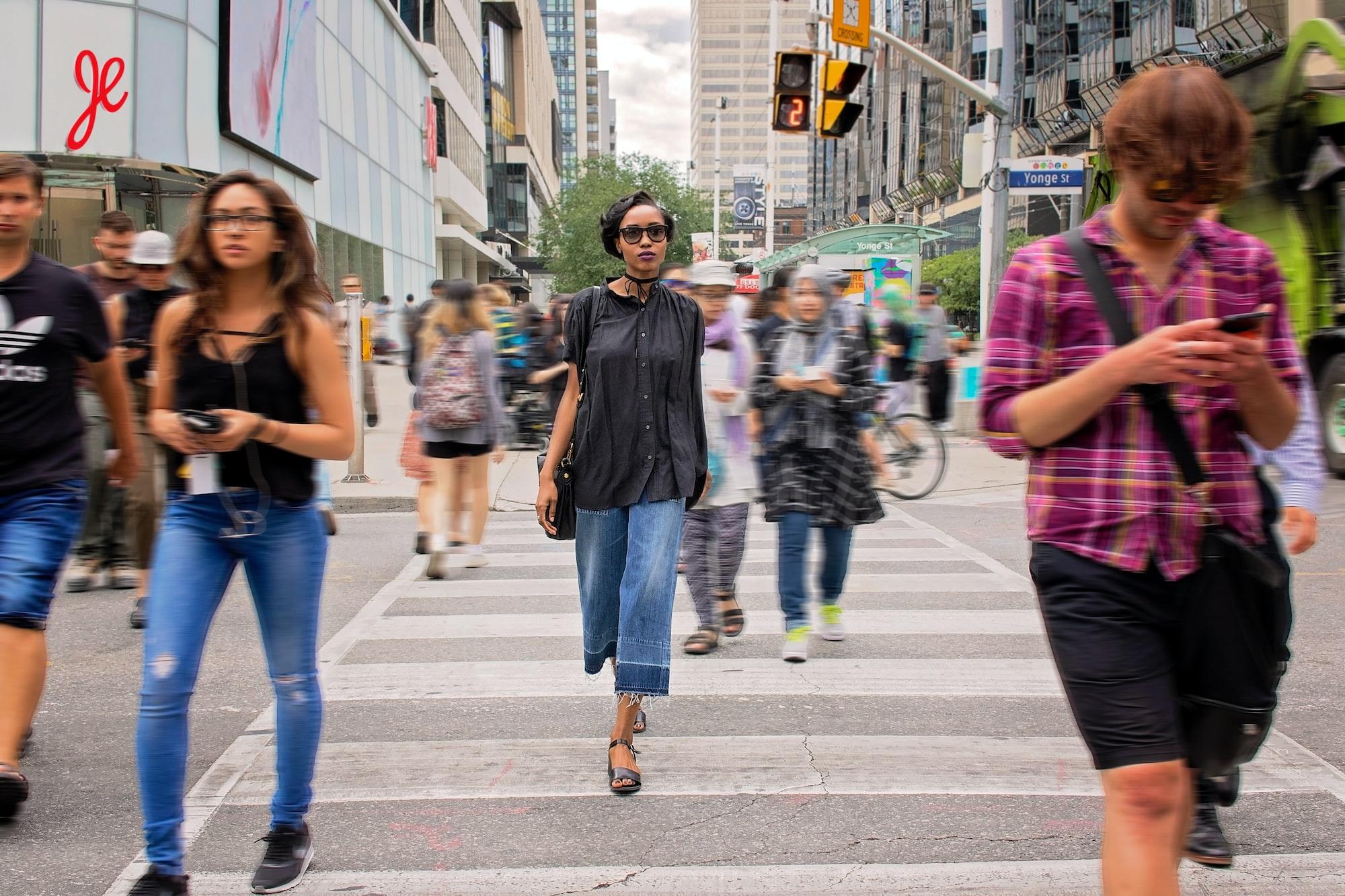 Уличная фотография - мода