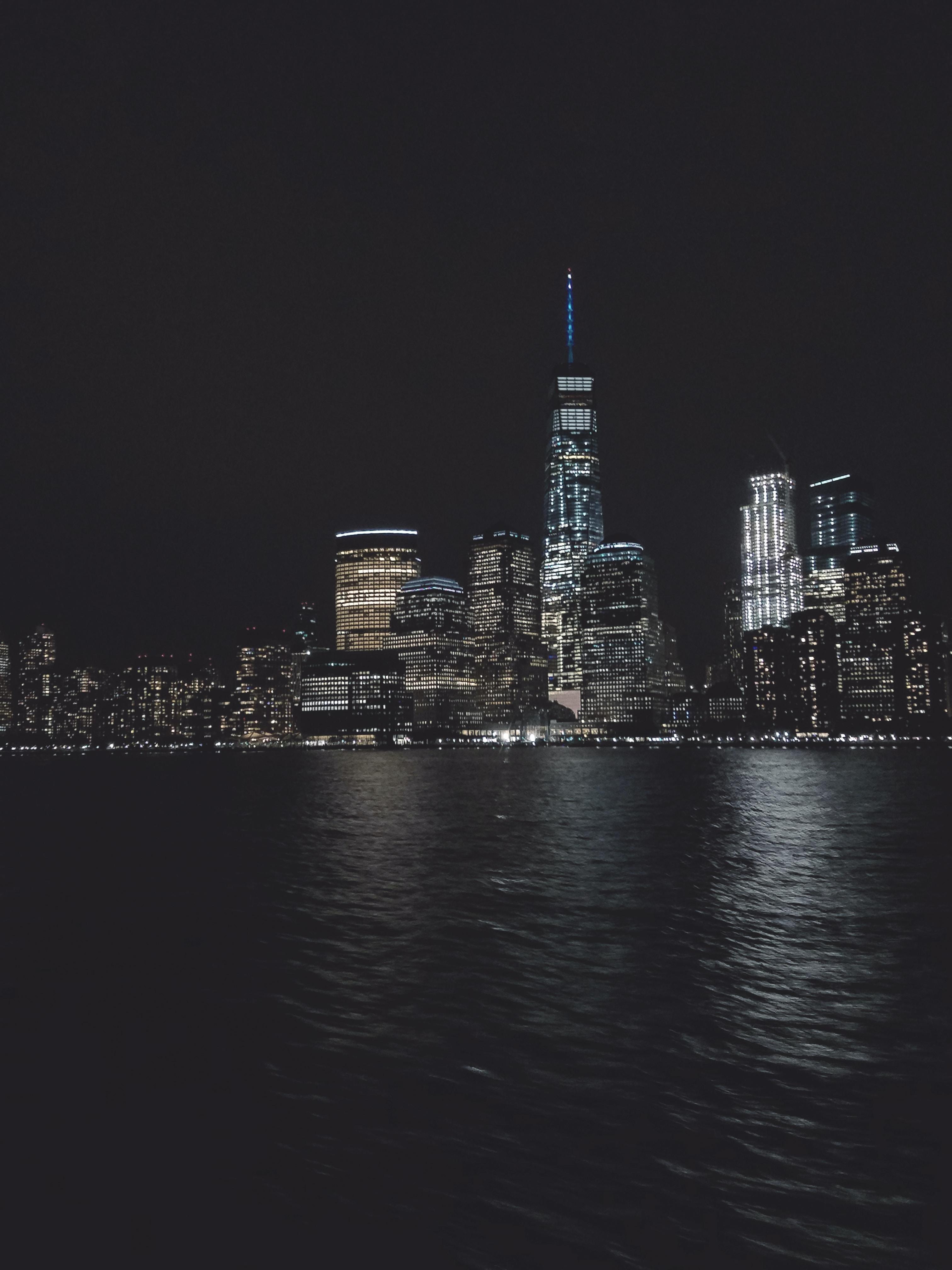 photo of concrete high rise building
